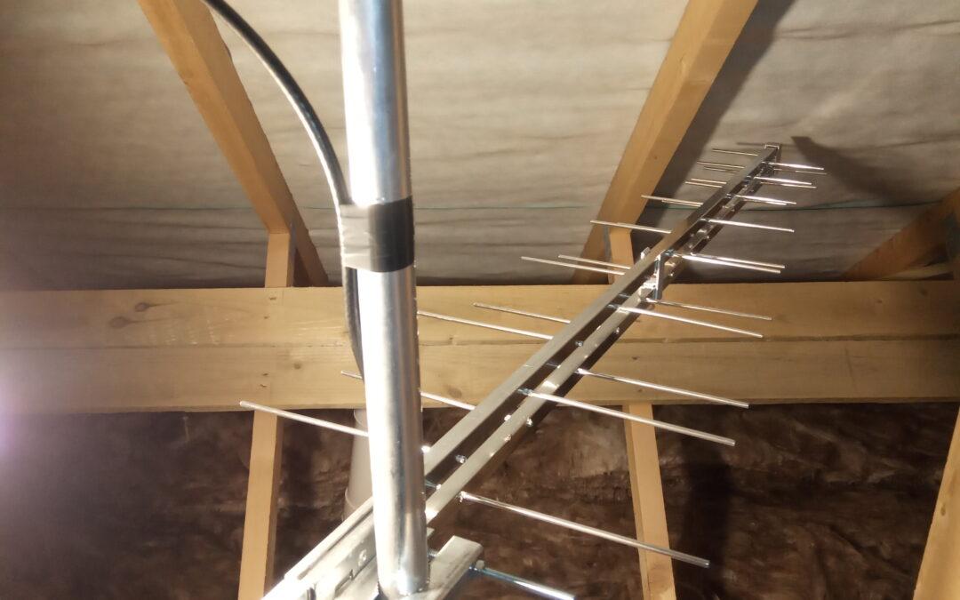 Indoor Loft Aerials vs Outdoor Aerials